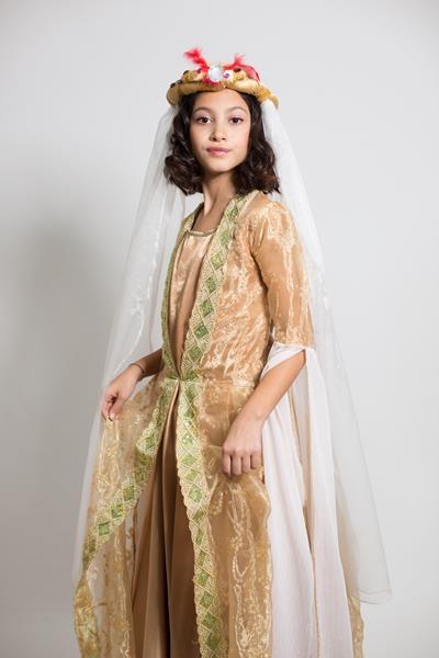 Çocuk Osmanlı Kadın Kostümü