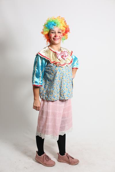 kadın-palyaco-kostum-kısa