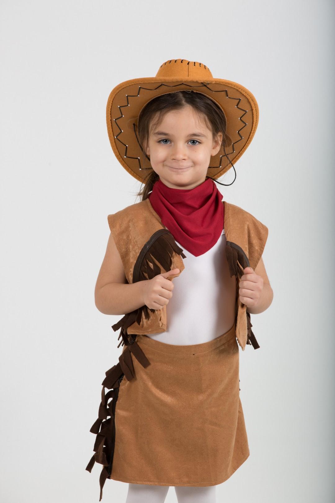 kovboy-kız-kostum-camel
