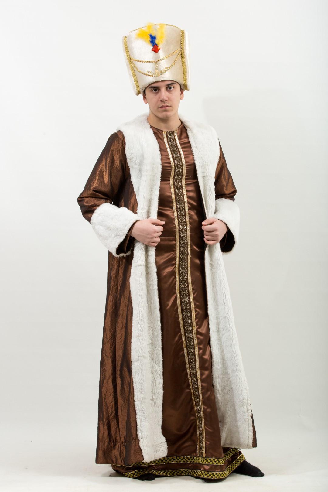 osmanlı-padısah-kostum-beyaz-kahve