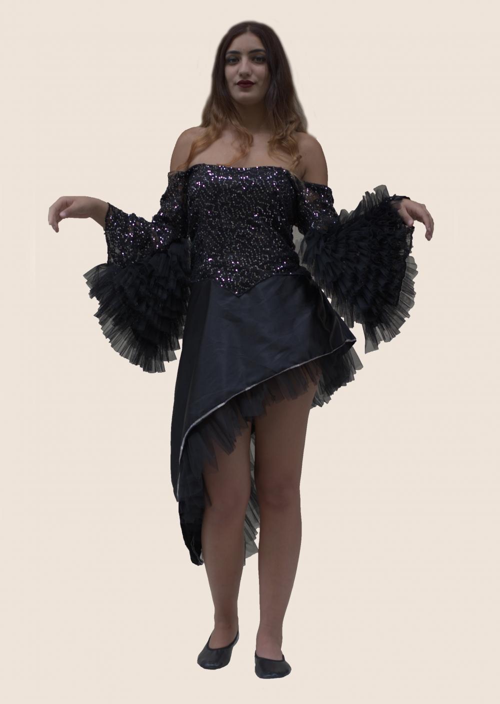 seksi-dans-kostum-siyah