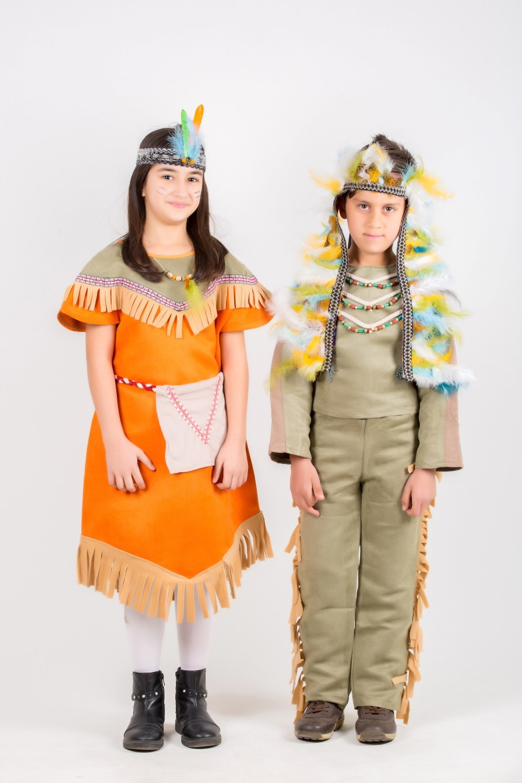 ülke-kızılderili-turuncu-kız-kostumu