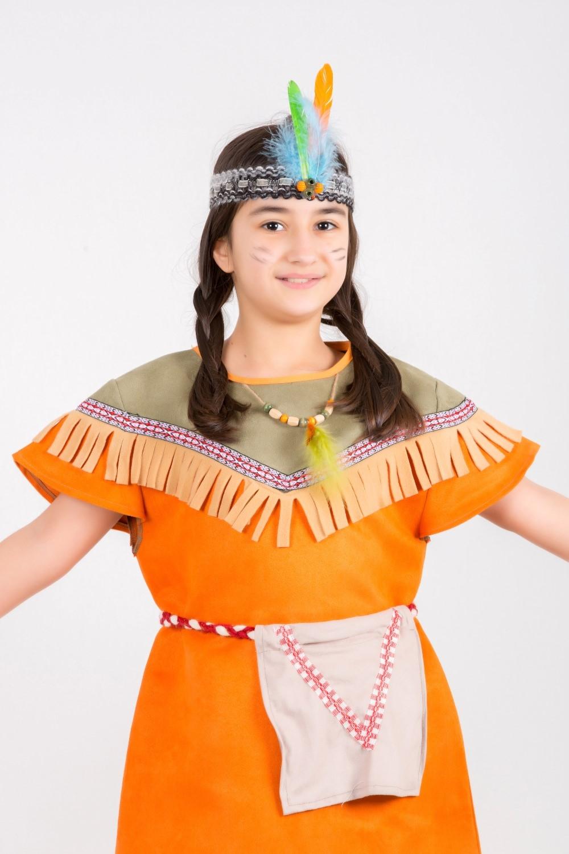 ülke-kızılderili-turuncu-kız-kostumu.
