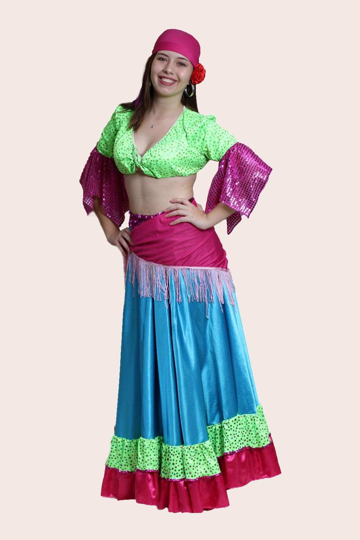 yeşil-büstiyerli-kadın-roman-kostumu