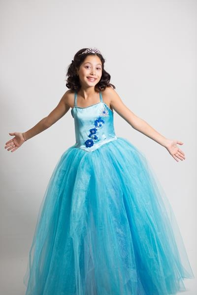 Çocuk Tasarım Turkuaz Prenses