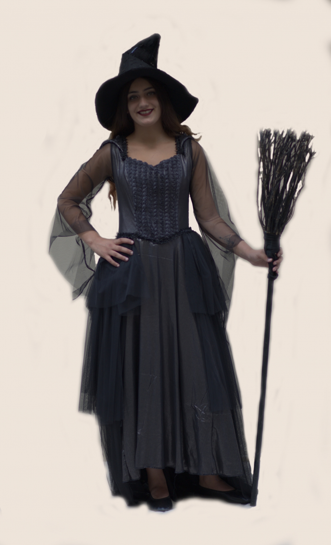 Gotik Cadı Kostümü