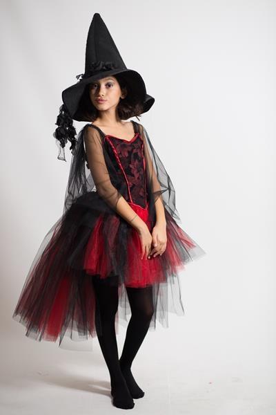 Kuyruklu Çocuk Cadı/Monster High Kostümü