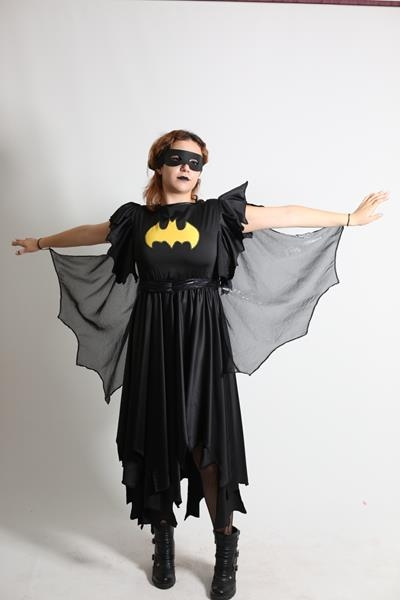 Tasarım Batgirl Kostümü