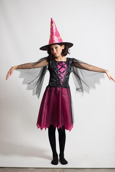 Tasarım Çocuk Cadı/Monster High Kostümü