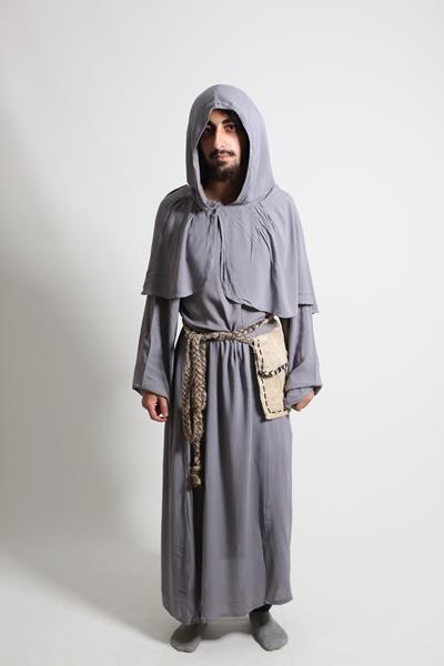 Yetişkin Erkek Keşiş/Büyücü Kostümü