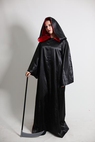 Yetişkin Kadın Şeytan/Büyücü Cübbesi