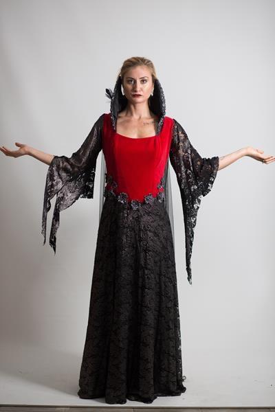 Yetişkin Kötü Kraliçe Kostümü