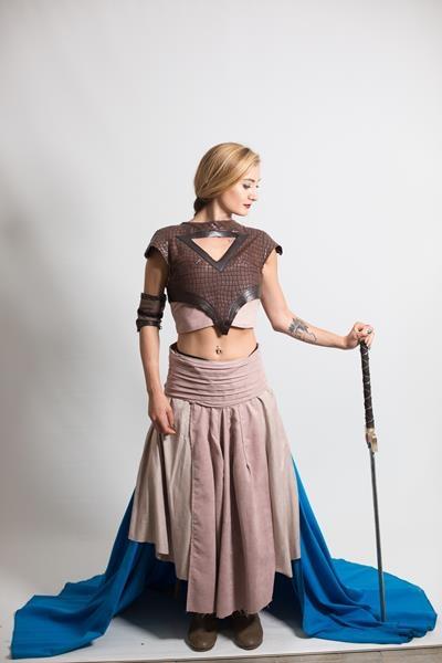 Khaleesi-kostum