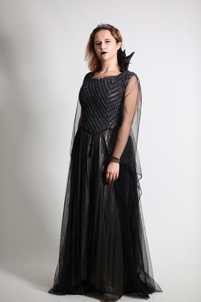 Yetişkin Tasarım Kötü Kraliçe Kostümü