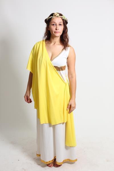 yunan-kadın-sarı-sareli.