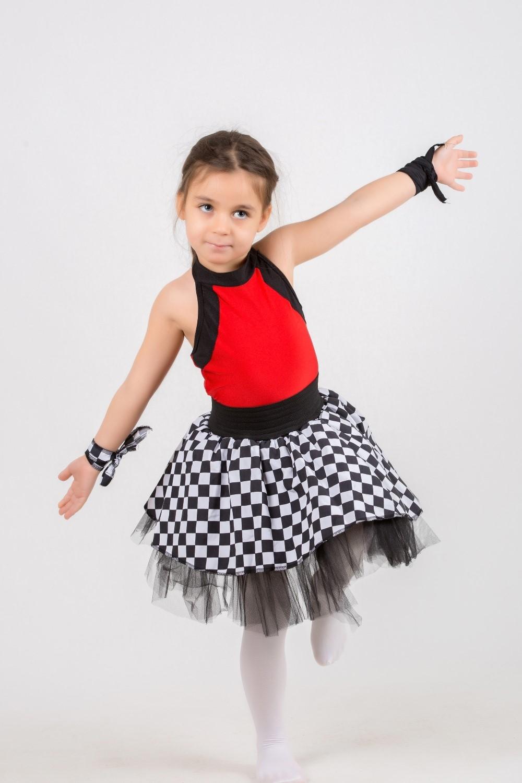 damalı dans kostümü-2019