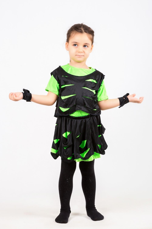 yeşil-siyah-modern-dans-kostumu
